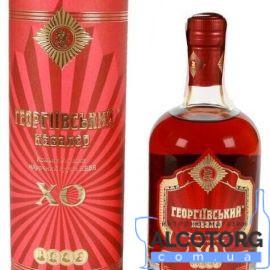 Коньяк Георгіївський Кавалер Марочний 8 років, Georgievsky Cavaler 8 years 0,7 л.
