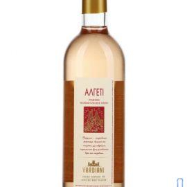 Вино Алгеті Вардіані рожеве напівсолодке, Vardiani 0,75 л.
