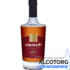 Коньяк Адамарі 3 зірки, Adamari 3* 0,5 л.