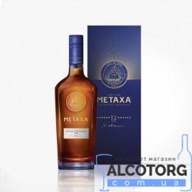 Бренді Метакса 12 зірок в коробці, Metaxa 12 * 0,7 л.