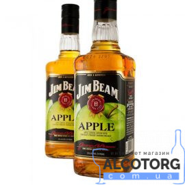 Віскі-Лікер Джим Бім Еппл, Jim Beam Apple 0,7 л.