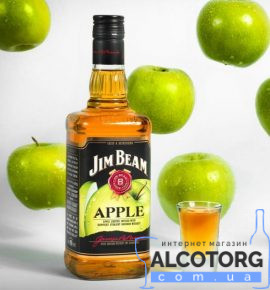Віскі-Лікер Джим Бім Еппл, Jim Beam Apple 1 л.