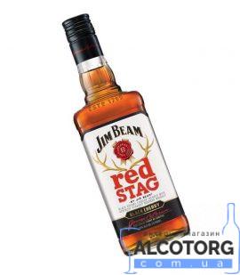 Віскі-Лікер Джим Бім Ред Стаг, Jim Beam Red Stag 1 л.