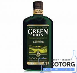 Бальзам Грін Хіллс Хербал Лікер, Green Hills Liquor 0,25 л.