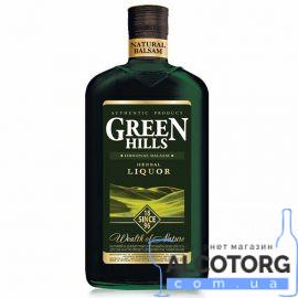 Бальзам Грін Хіллс Хербал Лікер, Green Hills Liquor 0,5 л.