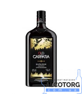 Бальзам Олд Карпати Оригінальний, Old Carpatia 0,5 л.
