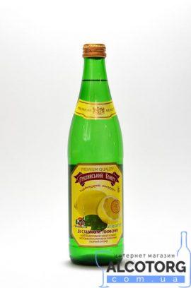 """Вода """"Зі смаком лимону"""" скло 0"""
