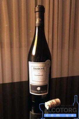 Вино Кантіна ді Неграр Вальполічелла Амароне сухе червоне, Cantina di Negrar Valpolicella Amarone 2010 0,75 л.