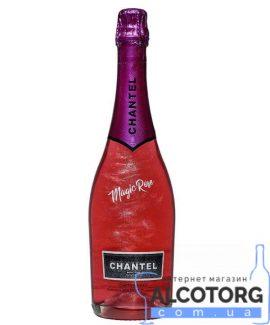 Напій Винний Слабоалкогольний Шантель Чарівний рожевий Напівсолодке