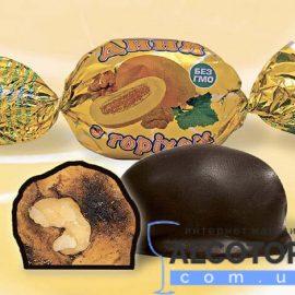 Цукерки Диня в шоколаді Аметист 1 кг.