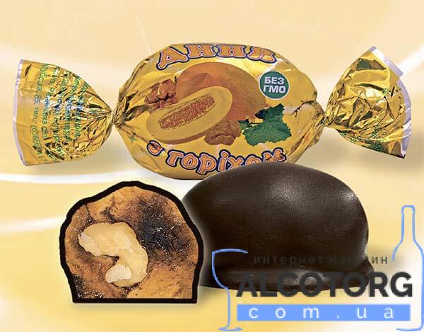 Конфеты Дыня в шоколаде Аметист 1 кг.