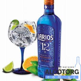 Джин Ларіус 12 Преміум Медітерране, Larios 12 Premium Gin Mediterranea 0,7 л.