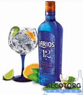 Джин Ларіус 12 Преміум Джин Медітерране, Larios 12 Premium Gin Mediterranea 0,7 л.
