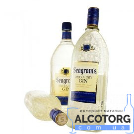 Джин Сігремс Екстра Драй, Seagrams Extra Dry 0,7 л.