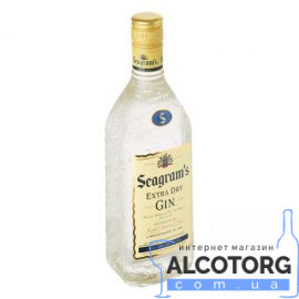 Джин Сігремс Екстра Драй, Seagrams Extra Dry 1 л.