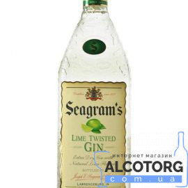 Джин Сігремс Лайм Твістед Джин, Seagrams Twisted Gin Lime 0,75 л.
