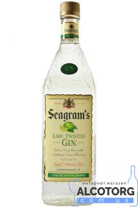 Джин Сігремс Лайм Твістед Джин, Seagrams Twisted Gin Lime 0,75 л.