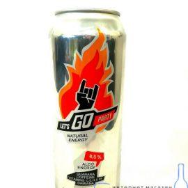 Енергетичний напій Летс гоу енерджі, Let's go energy 0,5 л.