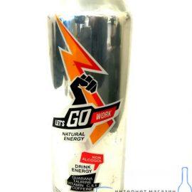 Енергетичний напій ''Летс гоу енерджі'' 0.5 л. Let's go energy Энергетический напиток '' Летс гоу энерджи '' 0.5 л. Let's go energy alcotorg.com.ua