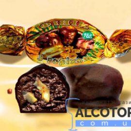 Цукерки Фінік з горіхом в шоколаді Аметист 1 кг.
