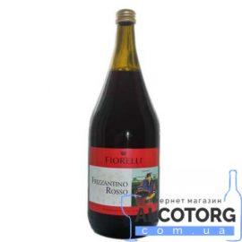 Напій на основі вина Фіореллі Фріззантіно Россо солодке червоне, Fiorelli Frizzantino Rosso 1,5 л.