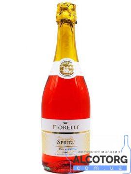 Напій на основі вина Фіореллі Шпрітц Коктейль рожеве напівсолодке