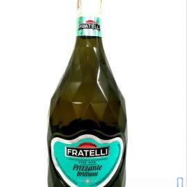 Вино Слабогазоване Ігристе Фрателлі Фріззанте Бьянко сухе біле, Fratelli Frizzante Bianko 0,75 л.