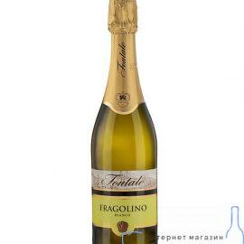 Напій винний Фраголіно Фонтале біле солодке, Fragolino Bianco Fontale 0,75 л.