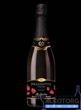 Напій на основі вина Фраголіно Боідо біле солодке, Fragolino Boido 0,75 л.