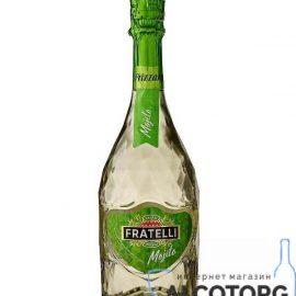 Винний напій слабоалкогольний Фрателлі Мохіто Фріззанте біле напівсолодке