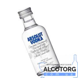 Горілка Абсолют, Absolut 0,05 л.