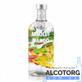 Горілка Абсолют Манго, Absolut Mango 0,7 л.