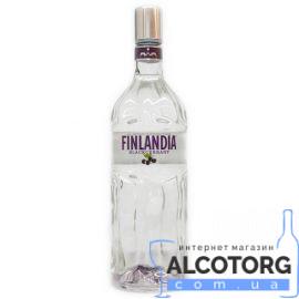 Горілка Фінляндія Чорна Смородина, Finlandia Vodka Blackcurrant 1 Л.
