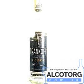 Горілка Франкофф Платина, Frankoff Platinum 0,5 Л.