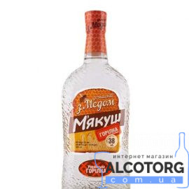 Горілка М'якуш Домашній з медом Болград 0,5 л.