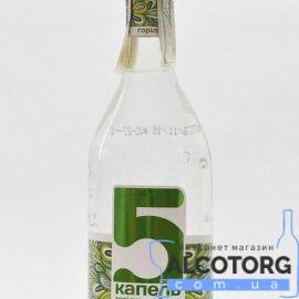 Водка 5 капель на березовом соке 0,5 л.