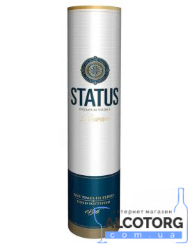 Горілка Статус Резерв Тубус, Status Reserve 0,7 л.
