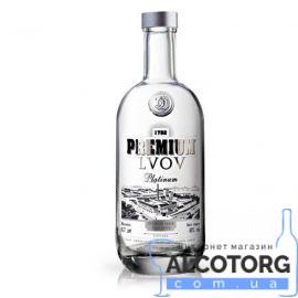 Горілка Преміум Львів Платина, Premium Lvov Platinum 0,7 л.
