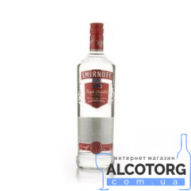 Горілка Смірнофф Ред, Smirnoff Red 1 Л.