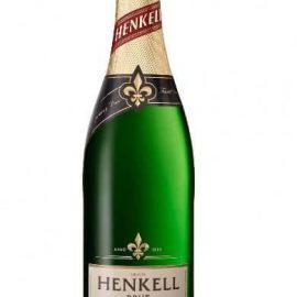 Вино ігристе Хенкель Де Люкс біле брют, Henkell de luxe brut 0,75 л.