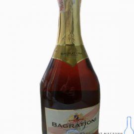 Шампанське Багратіоні рожеве напівсолодке, Bagrationi Rose Semi-sweet 0,75 л.