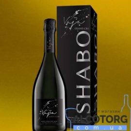 Вино ігристе Важа Гранд Кру Екстра Брют біле, Vaja Grand Cru Shabo 0,75 л.