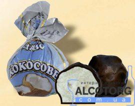 Цукерки Кокосове Диво в шоколаді 1 кг. Конфеты Кокосовое Чудо в шоколаде 1 кг. alcotorg.com.ua