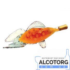 Коньяк Сувенір Риба 5 Зірок, Art Glass 0,5 л.