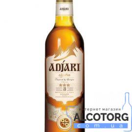 Коньяк Аджарі 3 зірки, Adjari 3* 0,5 л.