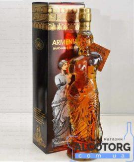 Коньяк Вірменський Афродіта 5 років в коробці 0
