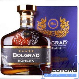 Коньяк Болград 5 звезд в коробке, Bolgrad 5 * 0,5 л.