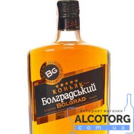 Коньяк Болградський 5 зірок, Bolgrad 5 * 0,5 л.