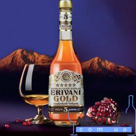Коньяк Ерівані Голд 5 зірок Вірменія, Erivani Gold 5 years 0,5 л.