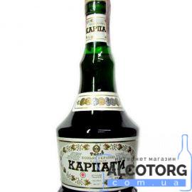 Коньяк Карпати 8 років Ужгород 0,5 л.